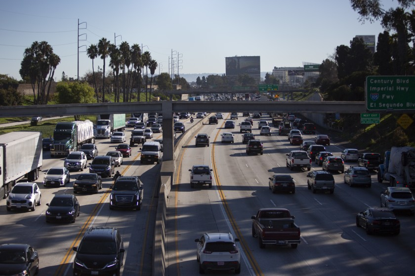 The Biden administration is kicking off the process of restoring California's power to impose tough restrictions on emissions from cars and SUVs, paving the way for the state to retake the lead on climate change policy.(Gabriella Angotti-Jones / Los Angeles Times)