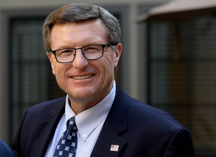 Cormac J. Carney, a U.S. District judge, was rebuffed Friday by a federal appeals court over a ruling questioning trial delays caused by the COVID-19 pandemic. (Gary Coronado/Los Angeles Times)
