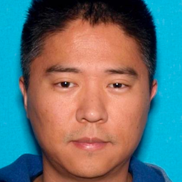 Michael Sangbong Rhee is seen in an undated photo released April 9, 2021, by the Irvine Police Department.