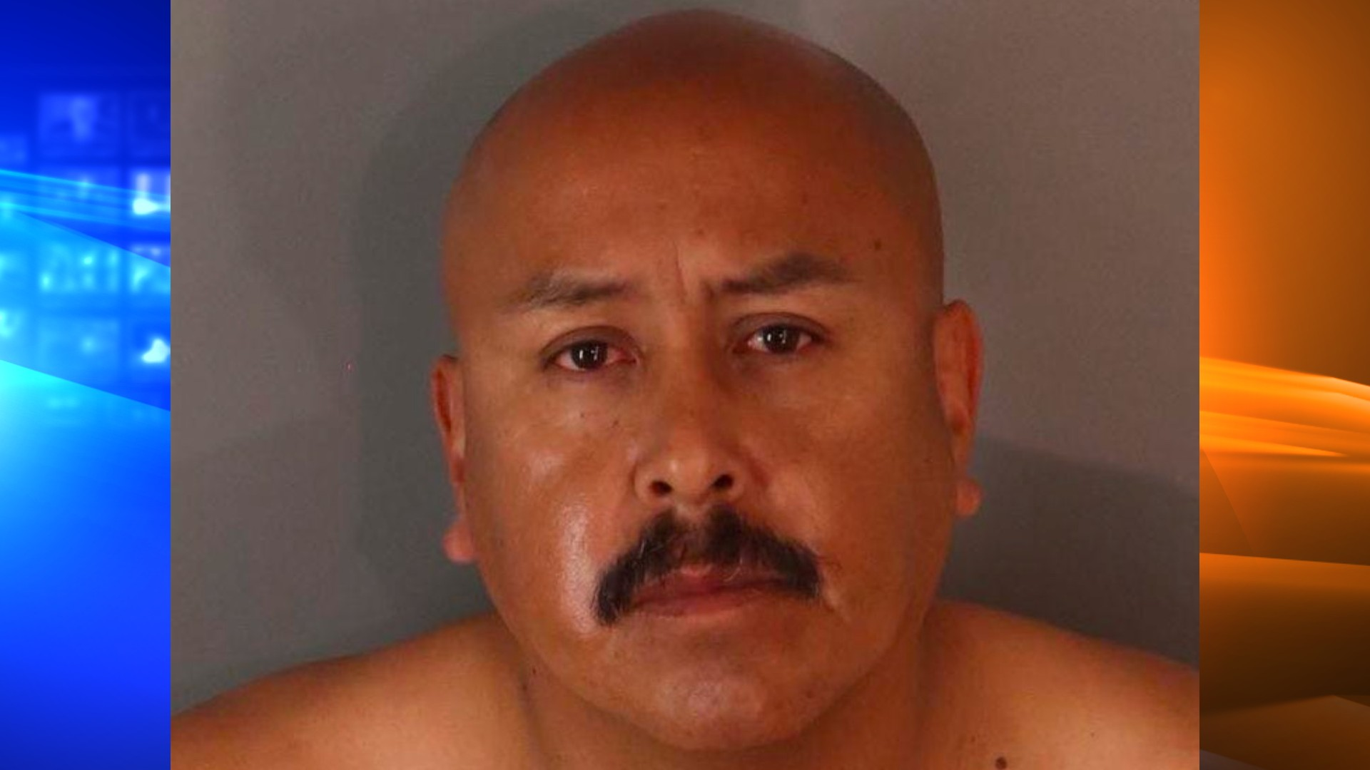 Eliezer Job Mendoza, 45, appears in a photo released by the Riverside Police Department on April 23, 2021.