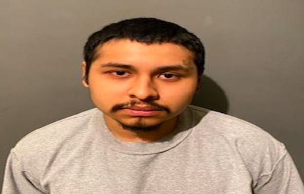 Lizandro Salgado is seen in a booking photo released April 16, 2021, by the Placentia Police Department.