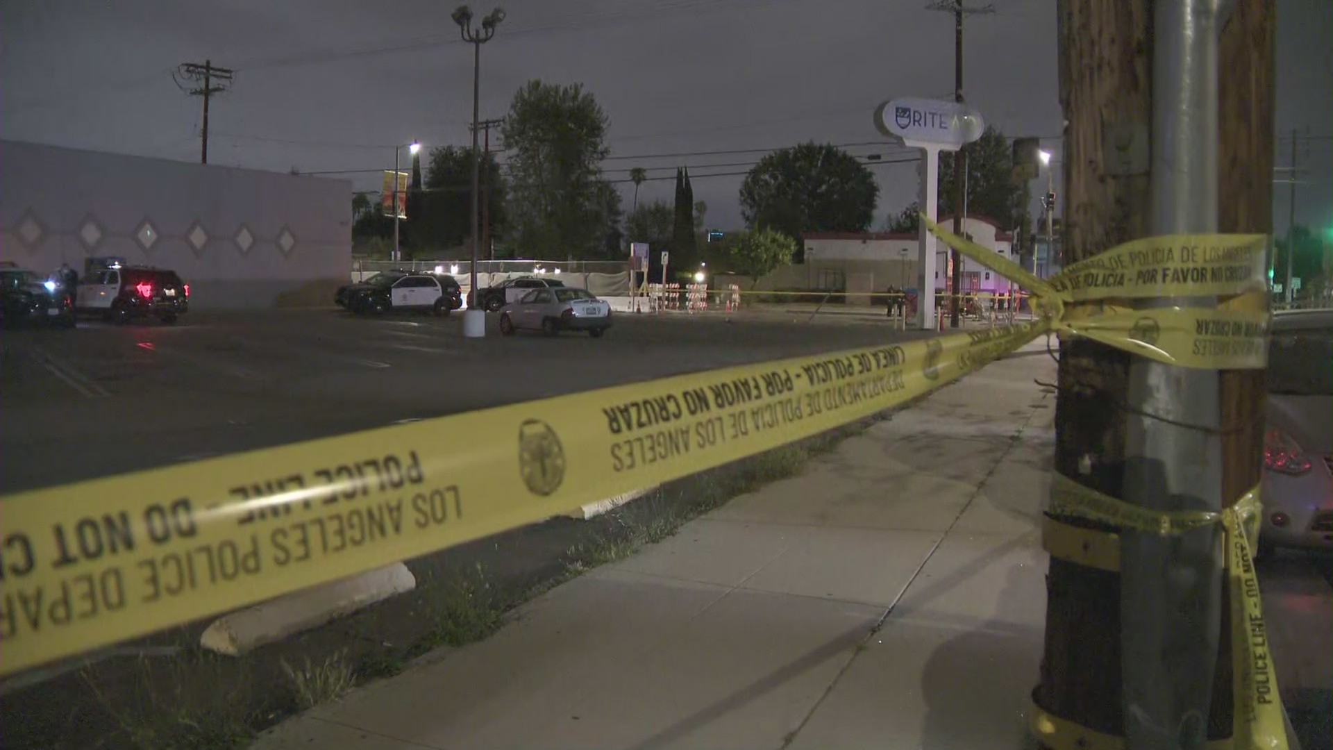 Valley Village shooting on April 23, 2021.