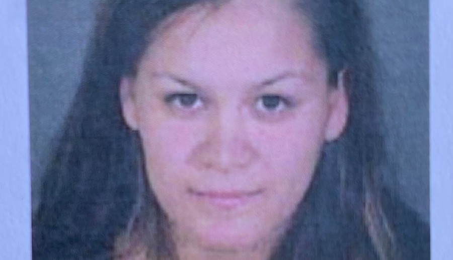 Liliana Carrillo, 30, appears in a photo released by LAPD via Twitter on April 10, 2021. Police have described her as a person of interest in the fatal stabbing of three children in Reseda.