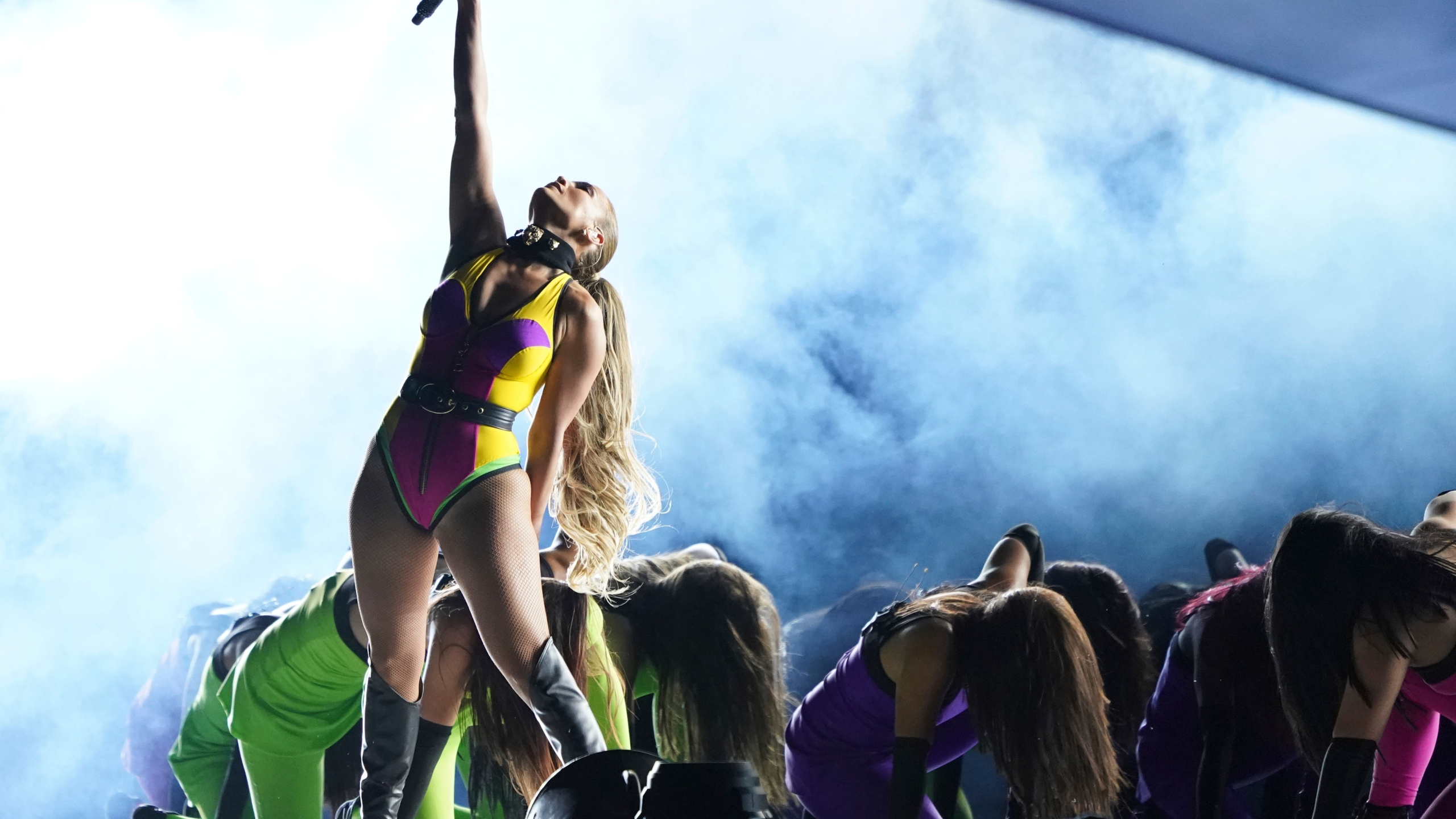 """Jennifer Lopez performs at """"Vax Live: The Concert to Reunite the World"""" on Sunday, May 2, 2021, at SoFi Stadium in Inglewood, Calif. (Photo by Jordan Strauss/Invision/AP)"""