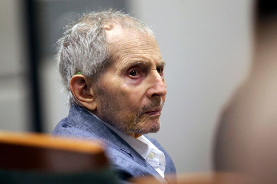 Jury returns to courtroom as Robert Durst's murder trial is set to resume after pandemic delay