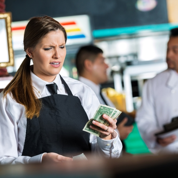 Waitress is seen in this undated file photo. (Getty Images)