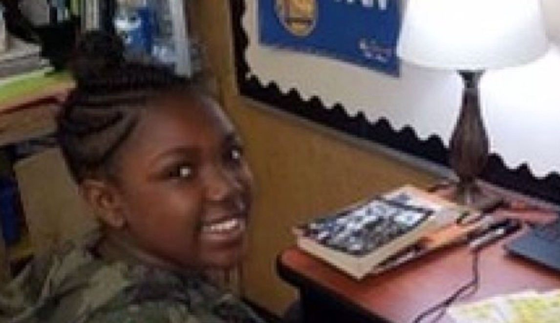K'Lea Davis appears in a GoFundMe page that states it was set up by her mother. The Bay Area girl was killed when she was just 12 years old.