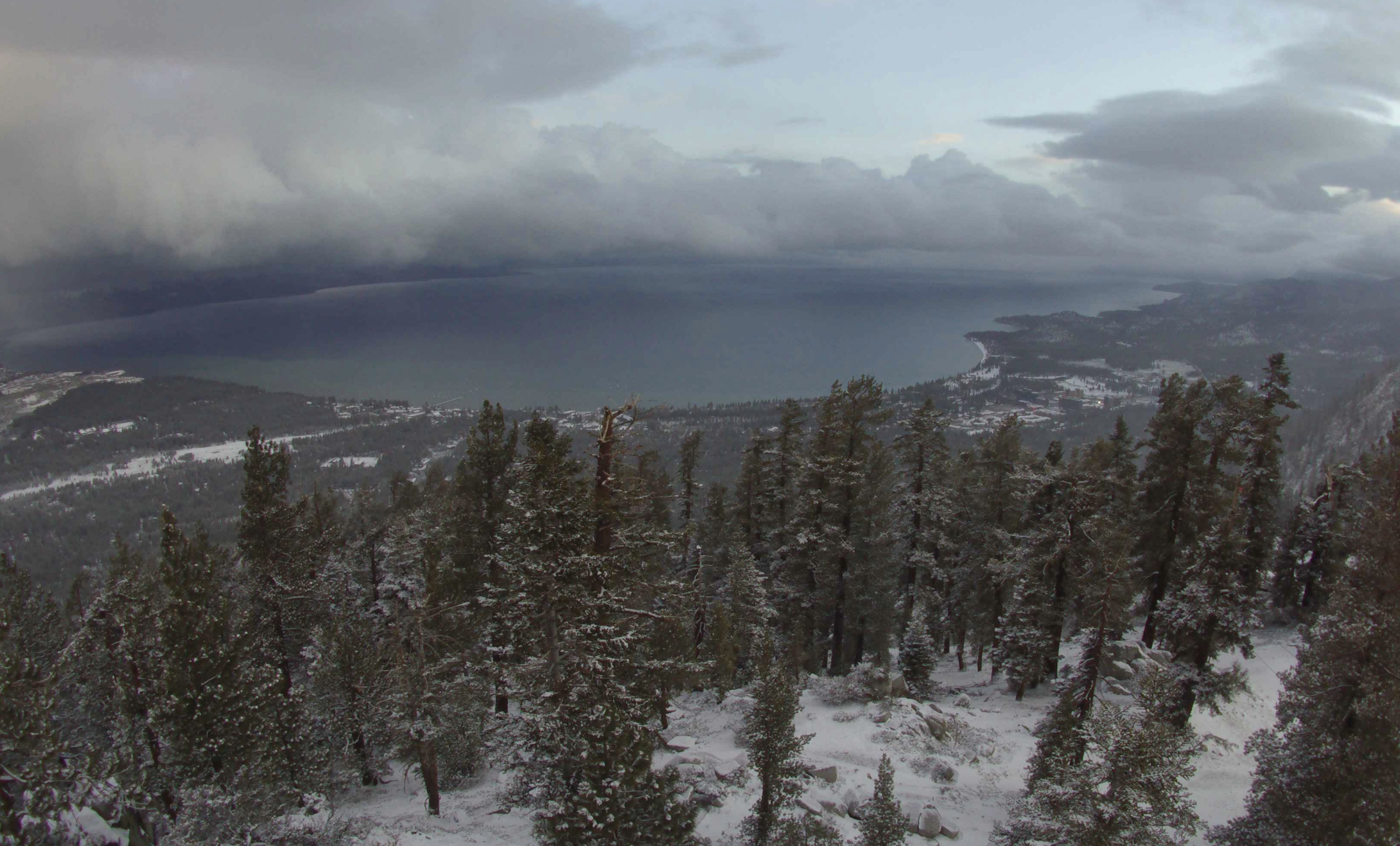 High elevations of the Sierra Nevada are sporting new dustings of snow on May 21, 2021. (U.S. Forest Service/ National Weather Service)
