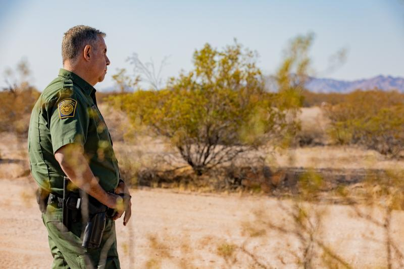 Border Patrol Agent David Phagan is now a supervisor assigned to the Wellton Border Patrol Station. (Customs and Border Protection)