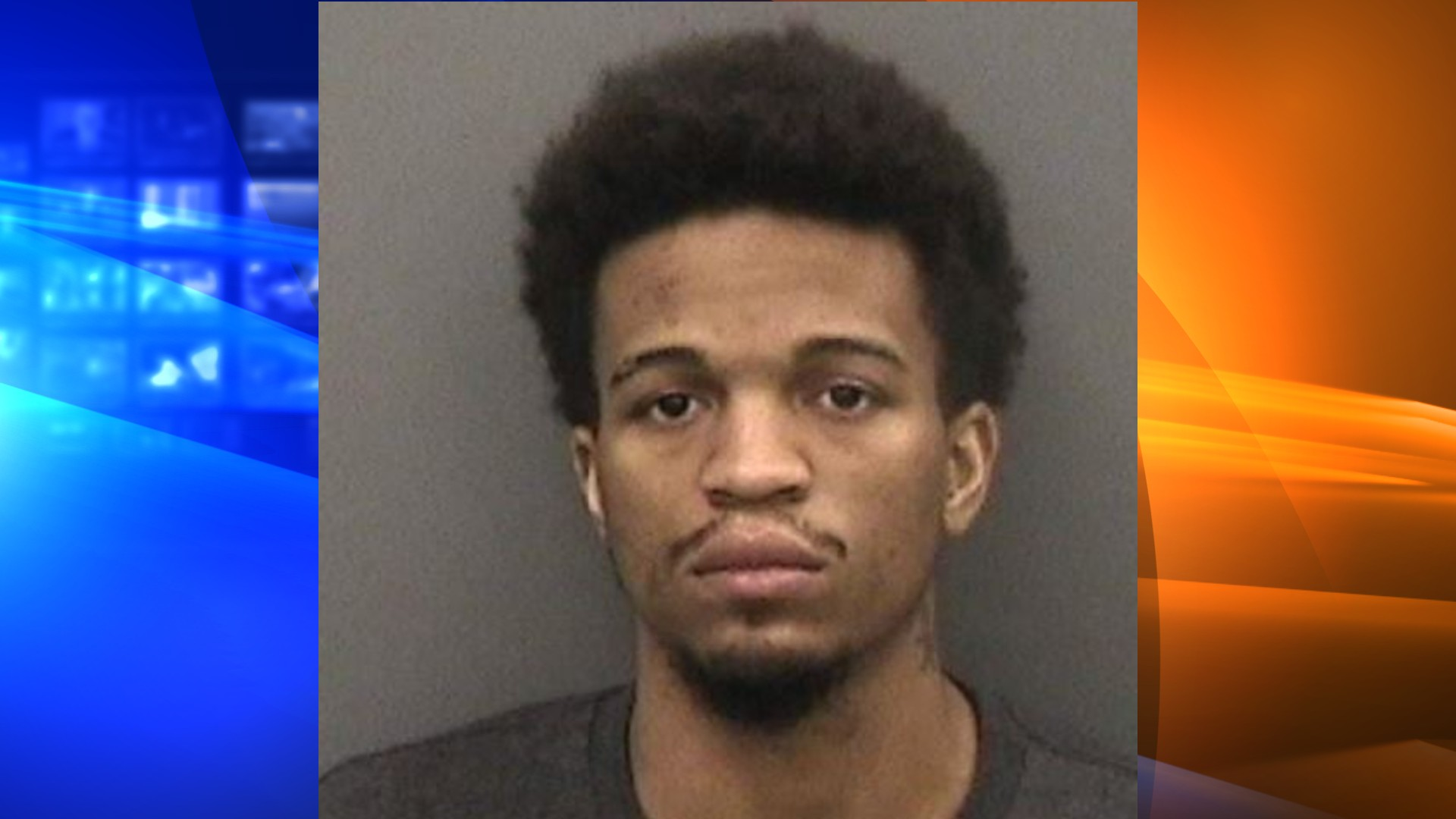 Corey Pujols is seen in a booking photo released by the Hillsborough County Sheriff's Office.