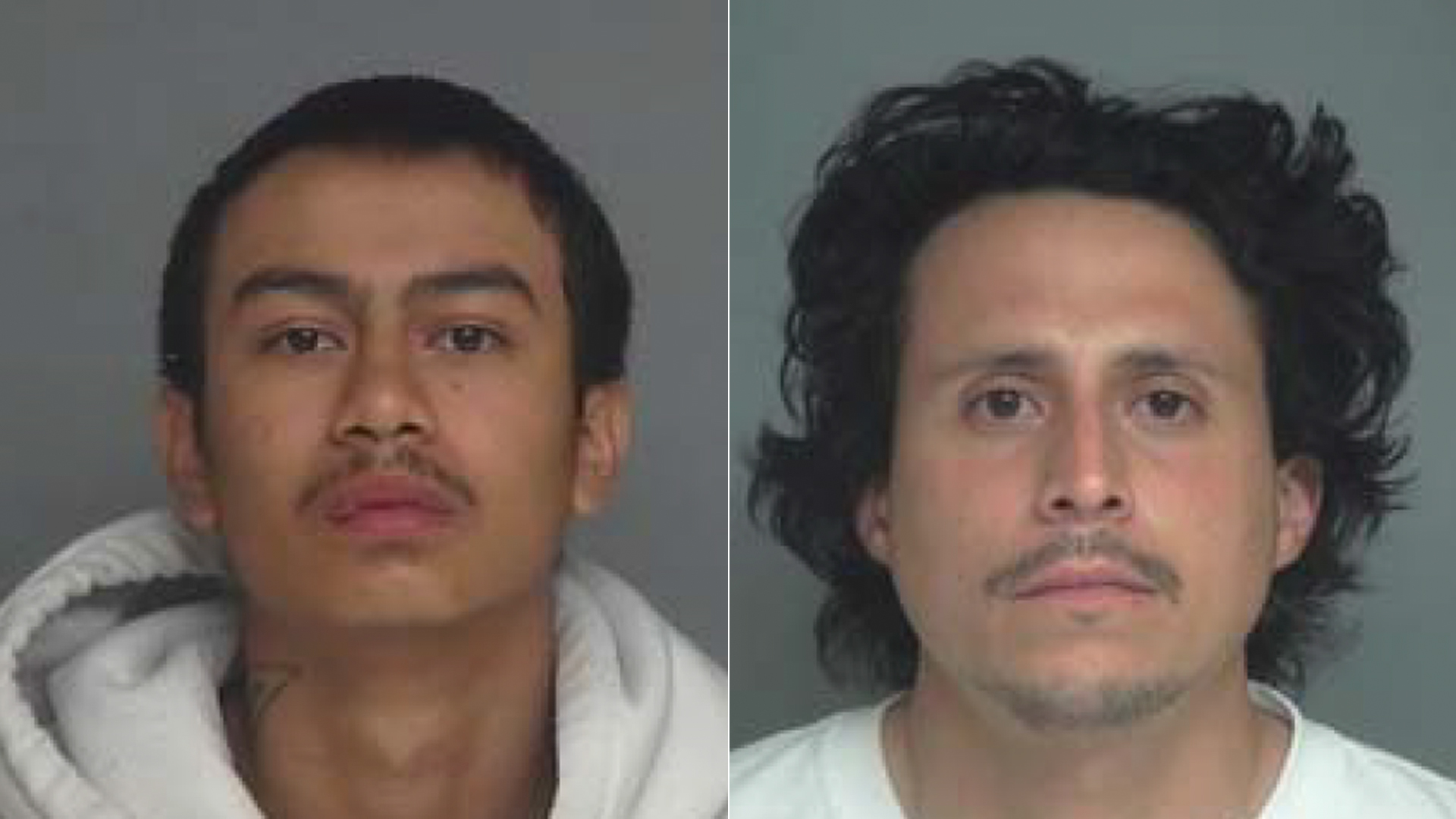 Enrique Torres and Agustin Cortez are shown in photos released by the Garden Grove Police Department on May 25, 2021.