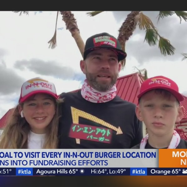 Link Up with Lynette: Templeton family attempts nationwide 'In-N-Out Road Trip'