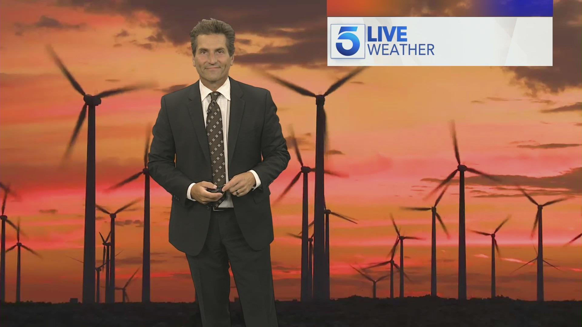 Henry Dicarlo on the KTLA 5 Morning News on May 6, 2021. (KTLA)