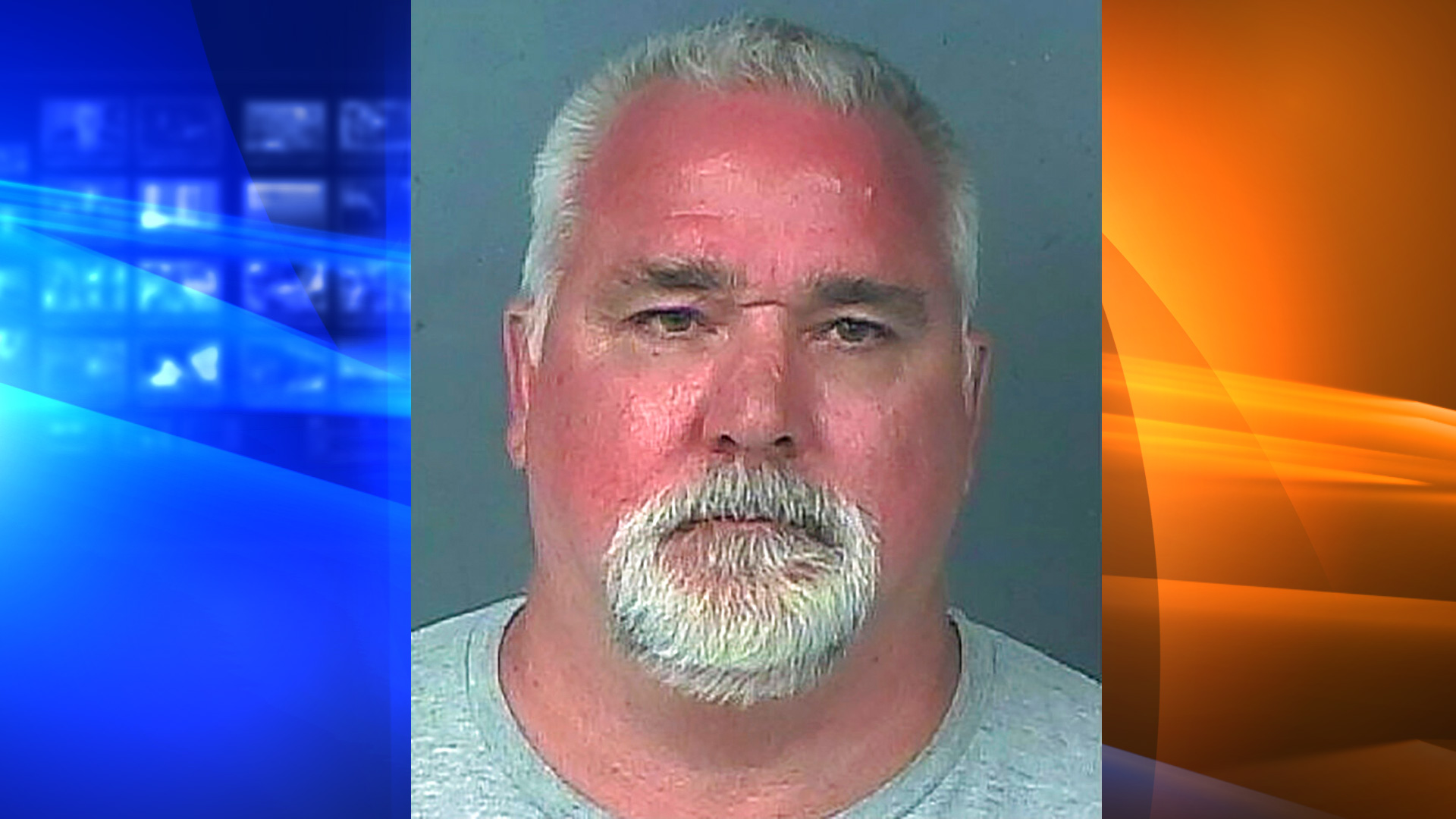 This Tuesday, May 25, 2021 booking photo provided by the Hernando County (Florida) Sheriff's Office shows David Swenson. Investigators in Florida arrested the 53-year-old sex offender, a fugitive from California who had been living under a false identity for 21 years. (Hernando County Sheriff's Office via AP)