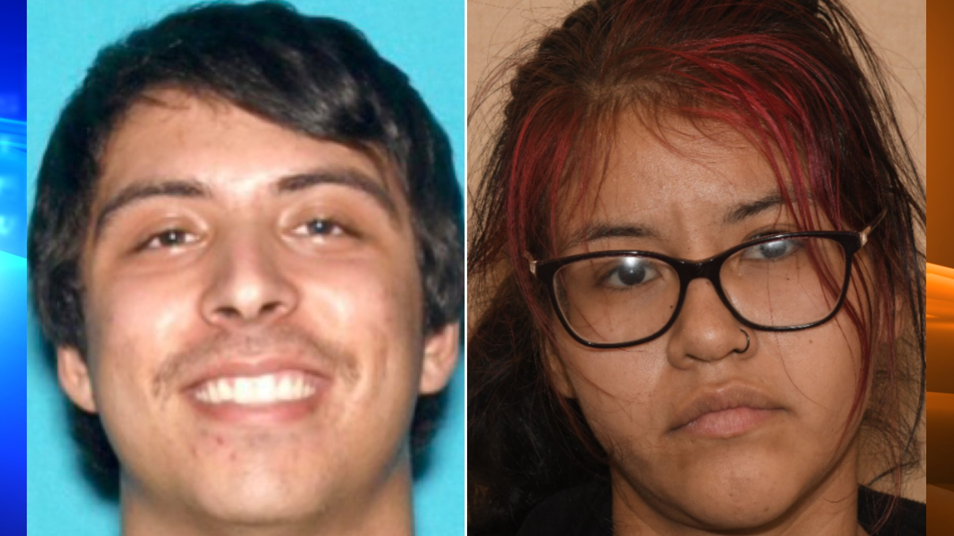 Robert Emilio Minjares, left, and Brittany Juarez, right, are seen in photos released by the Riverside Police Department on June 9, 2021.