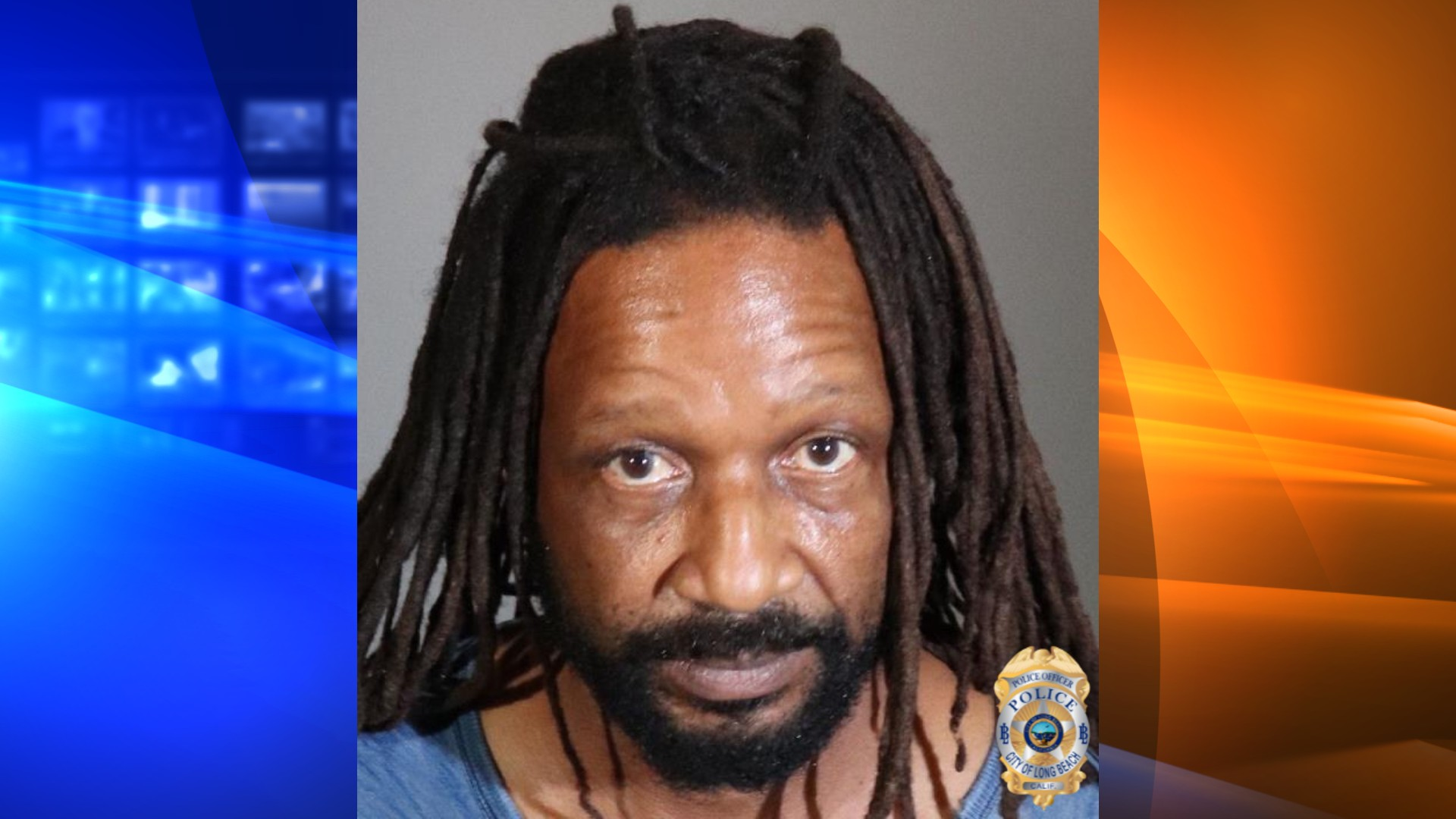 Bryan Scott is seen in a booking photo released by the Long Beach Police Department on June 3, 2021.