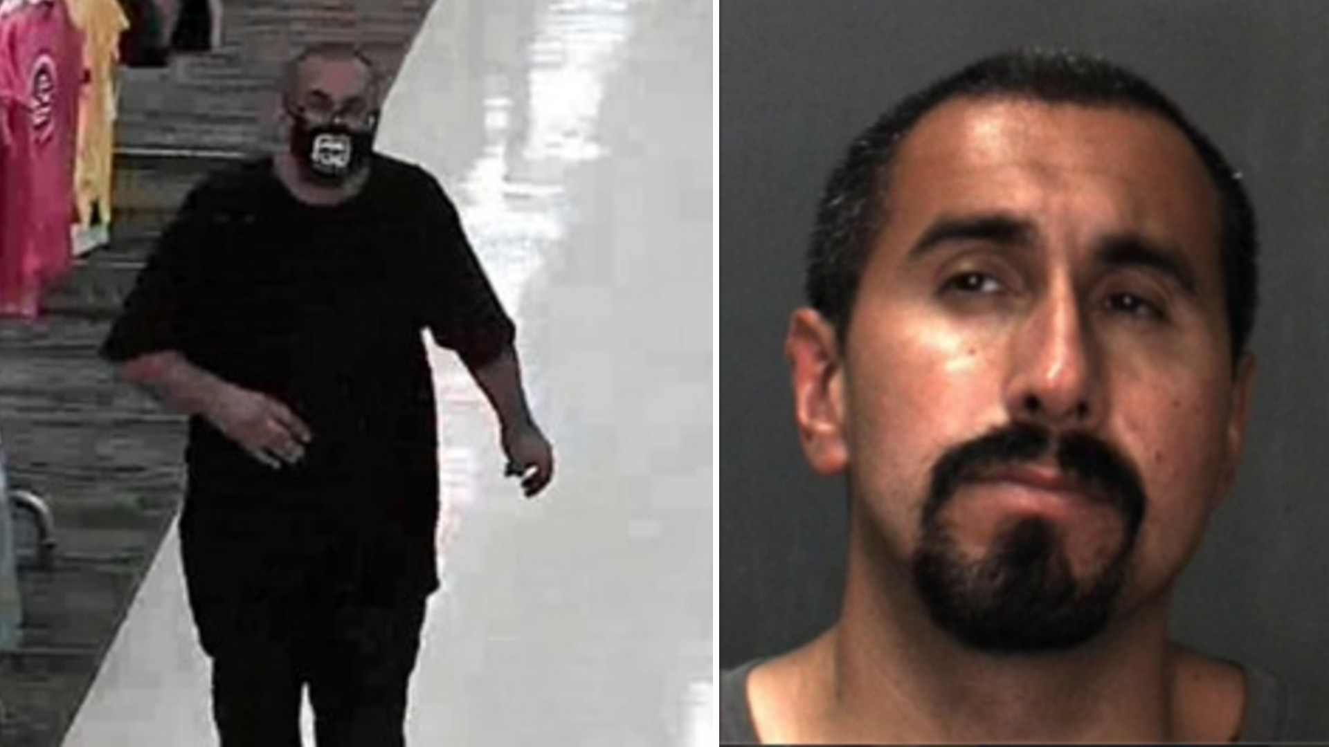 Moises Munoz, 42, of San Bernardino is seen in photos released by the Fontana Police Department on June 18, 2021.