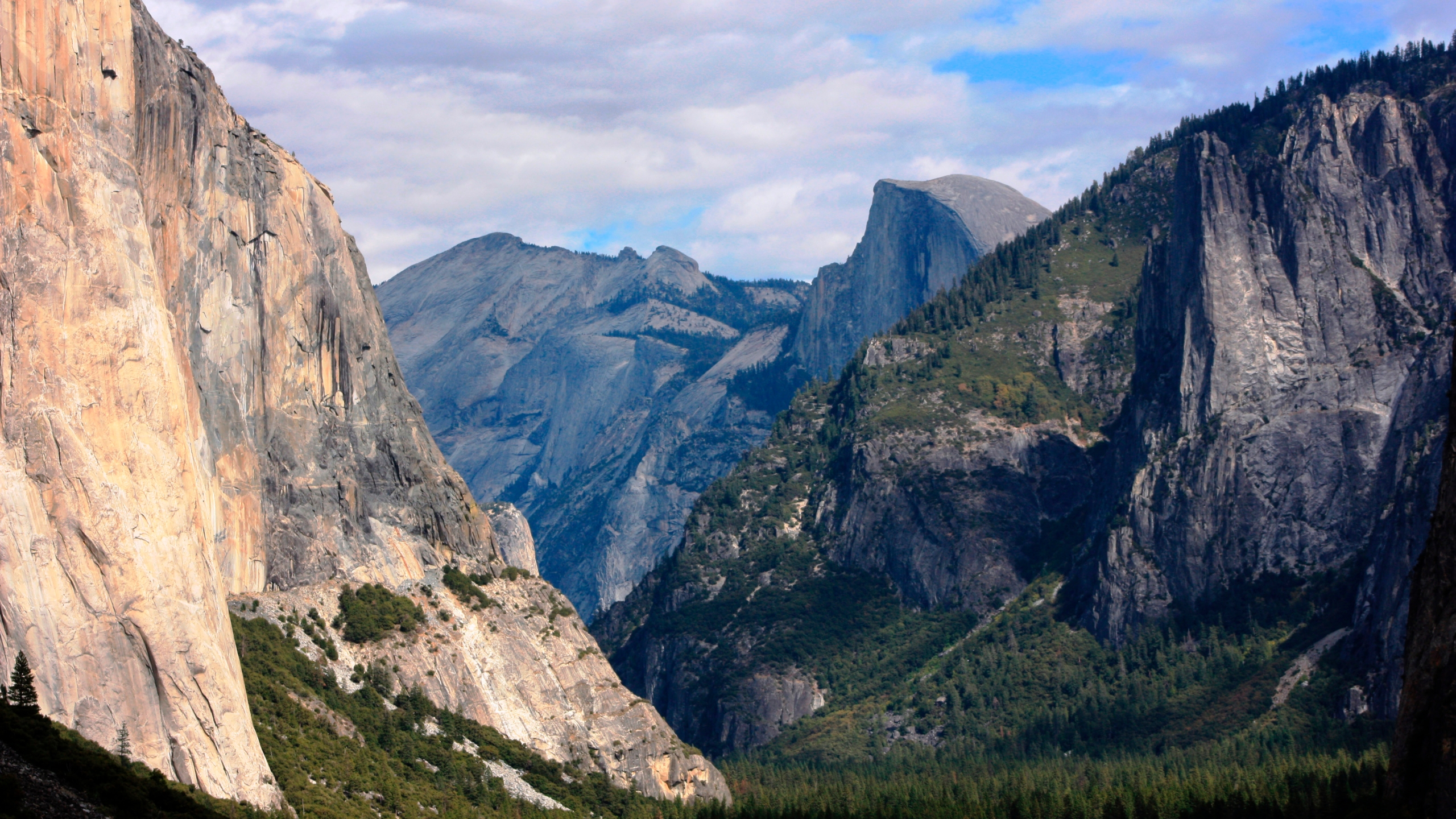 This Oct. 2, 2013, file photo, shows a view seen on the way to Glacier Point trail in Yosemite National Park. (Tammy Webber/Associated Press)