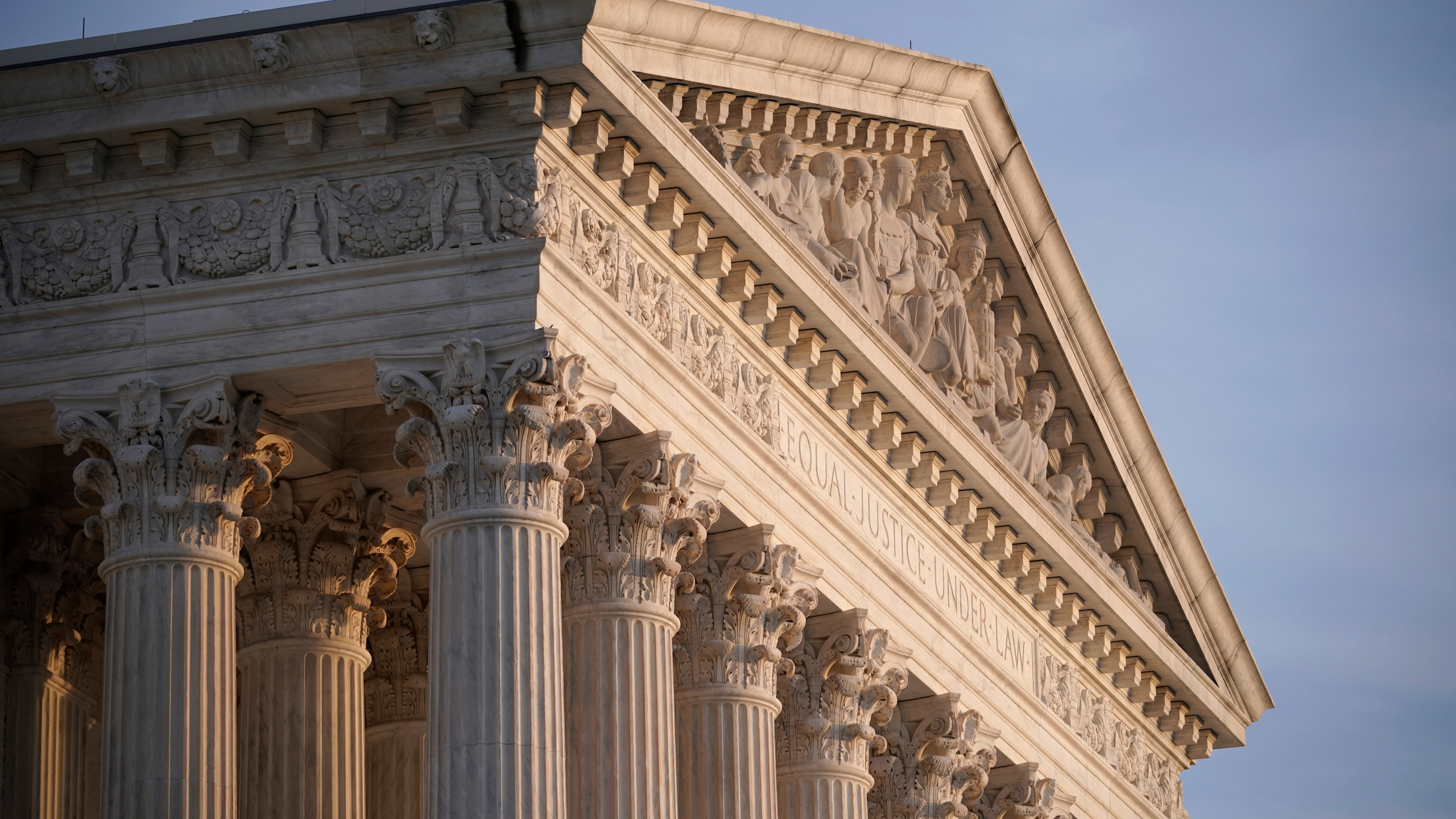 In this Nov. 5, 2020, file photo the Supreme Court is seen in Washington. With abortion and guns already on the agenda, the conservative-dominated Supreme Court is considering adding a third blockbuster issue _ whether to ban consideration of race in college admissions. (AP Photo/J. Scott Applewhite, File)