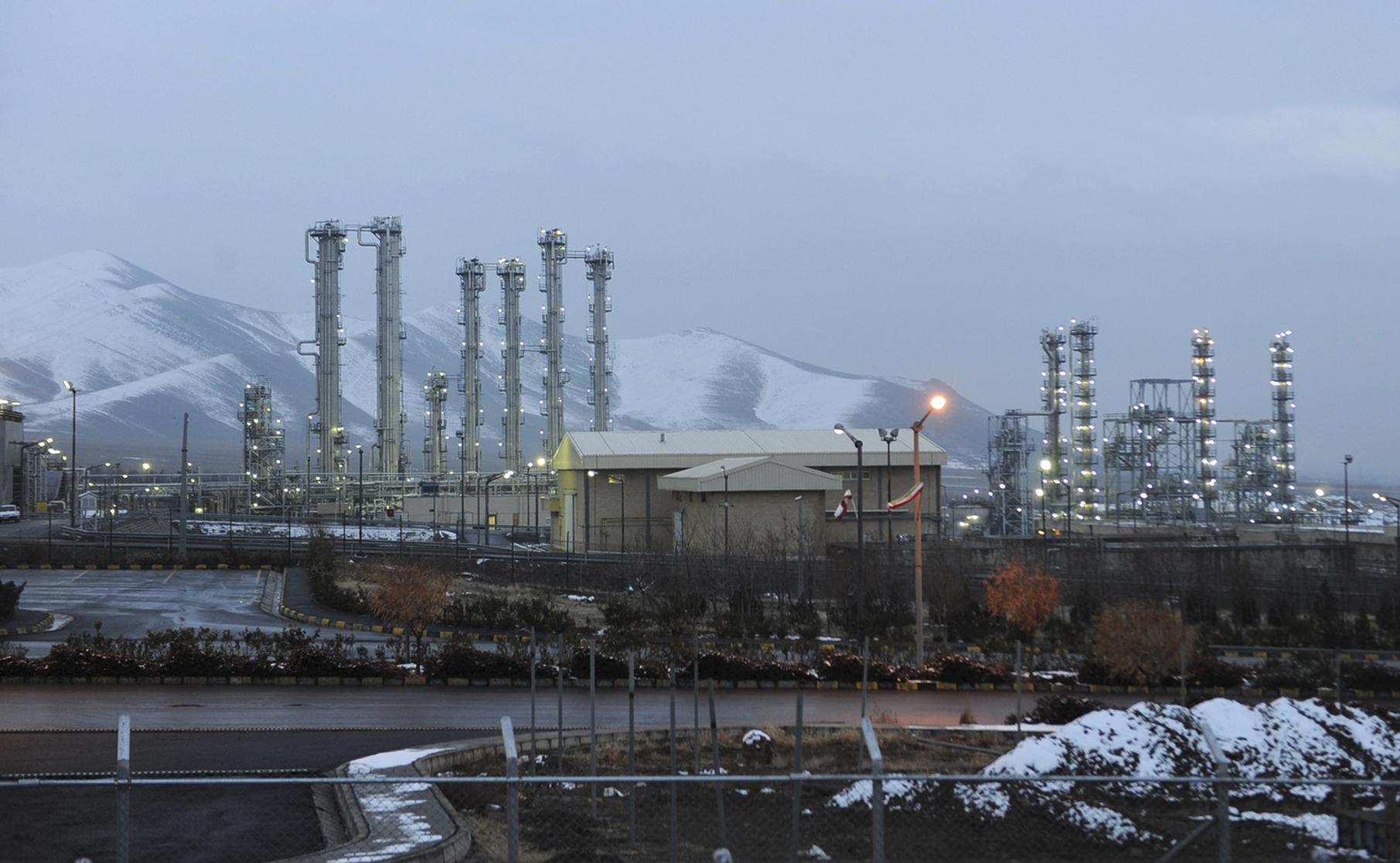 This Jan. 15, 2011 file photo shows Arak heavy water nuclear facilities, near the central city of Arak, 150 miles (250 kilometers) southwest of the capital Tehran, Iran. (AP Photo/ISNA, Hamid Foroutan, File)
