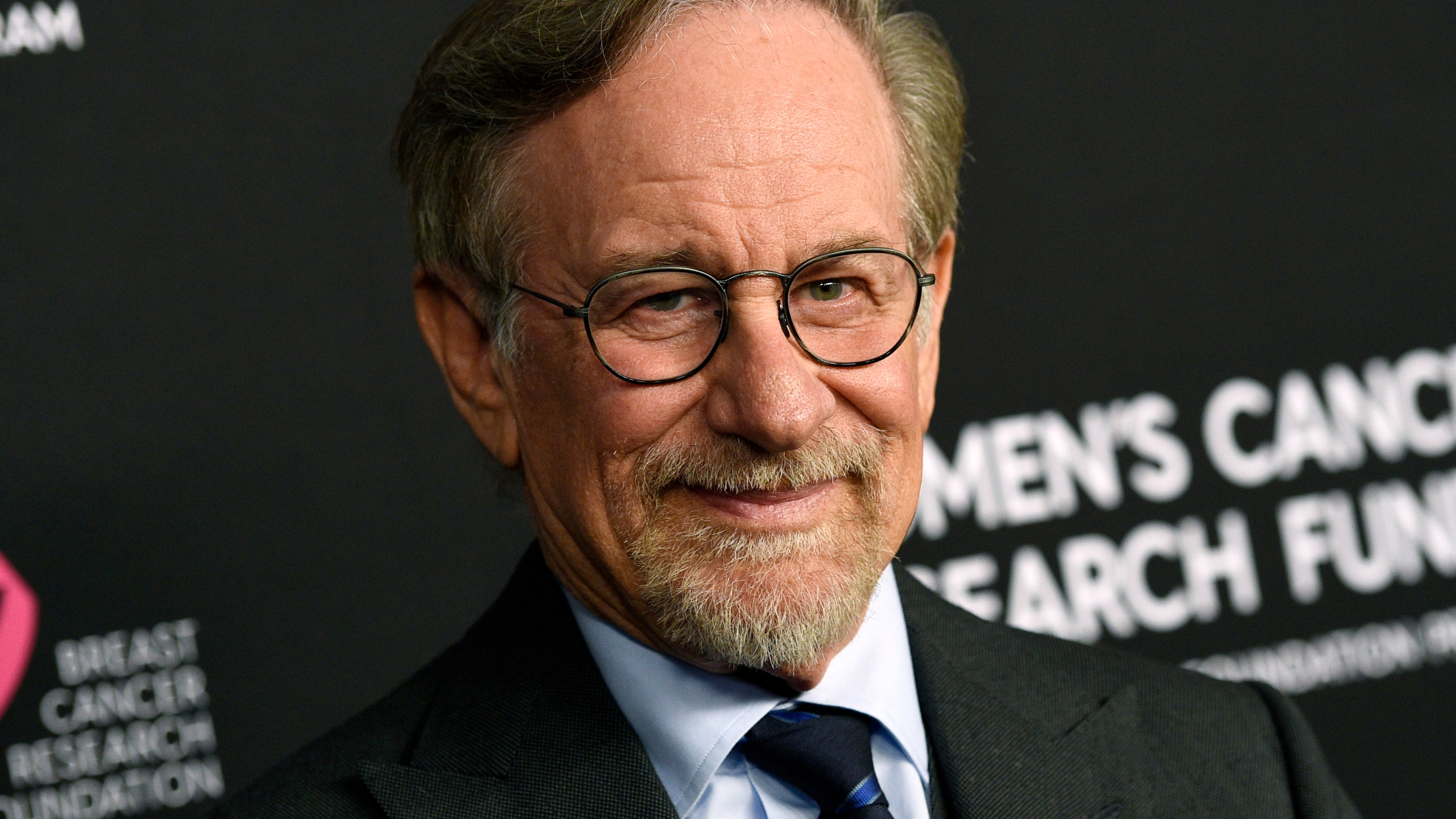 """Filmmaker Steven Spielberg poses at the 2019 """"An Unforgettable Evening"""" benefiting the Women's Cancer Research Fund in Beverly Hills on Feb. 28, 2019. (Chris Pizzello/Invision/Associated Press)"""