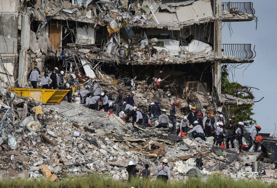 4 more bodies found in rubble of Florida collapsed condo tower as search continues