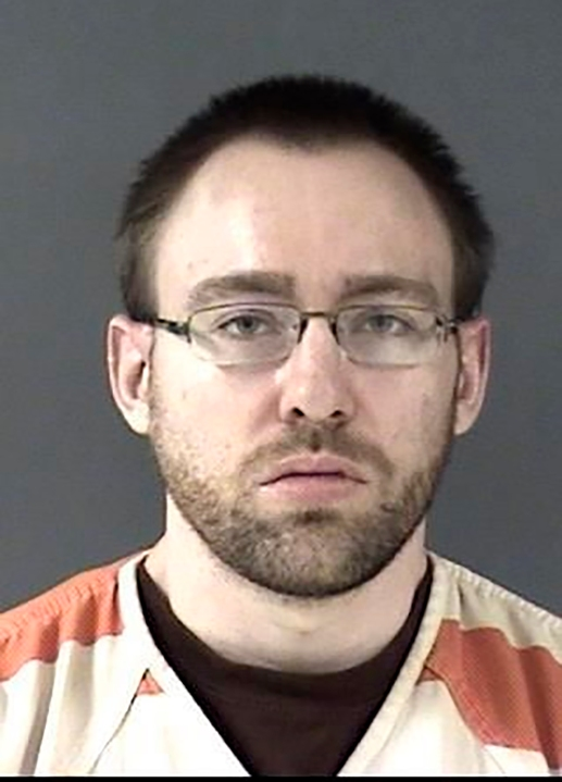 This booking photo provided by the Laramie County Sheriff's Office shows suspect Wyatt Dean Lamb. (via AP)