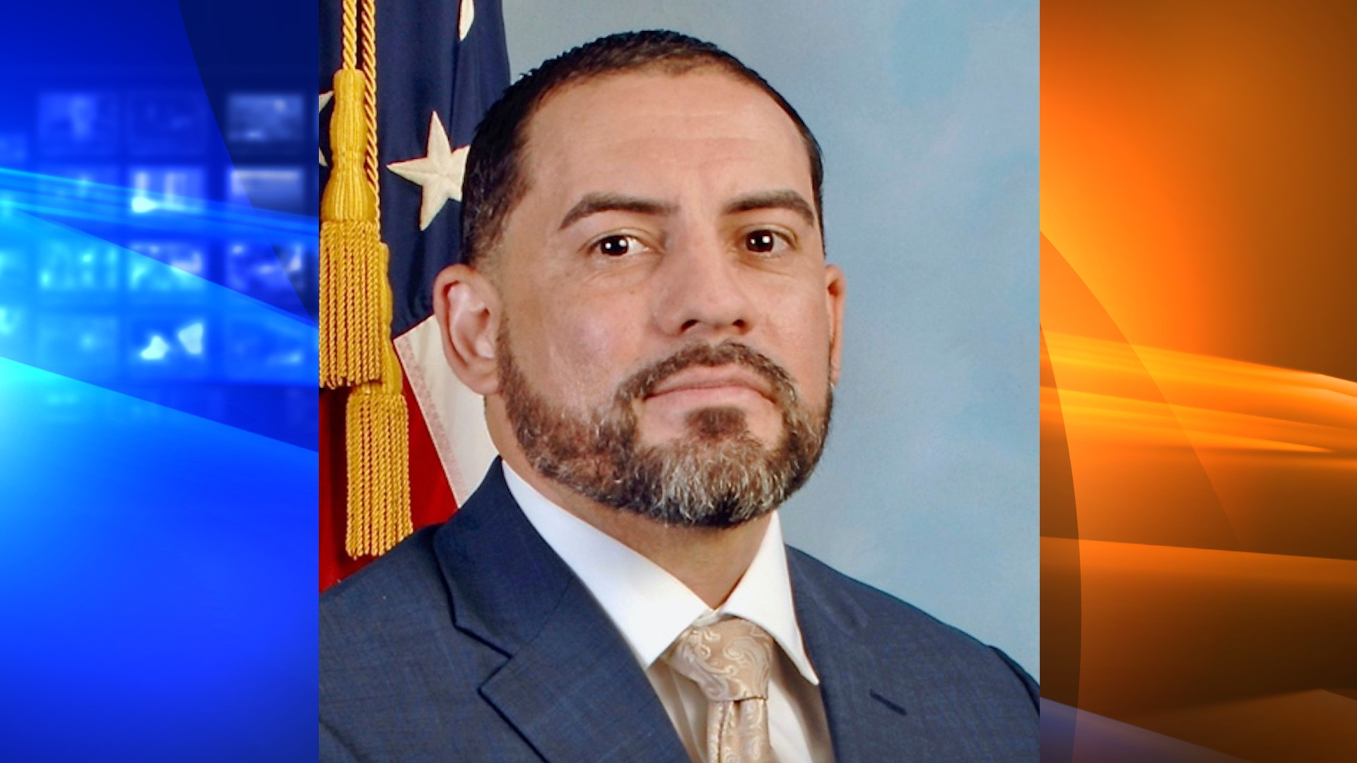 This image provided by defense attorney Robert Bonsib of MarcusBonsib, LLC, shows FBI agent Eduardo Valdivia, who has been charged with attempted murder in the off-duty shooting of another man on a Metro subway train last year in a Maryland suburb of Washington, D.C., according to court records unsealed Tuesday, June 1, 2021. Valdivia turned himself in to local authorities at a county jail Tuesday morning, according to Chief Deputy Maxwell Uy of the Montgomery County Sheriff's Office. (MarcusBonsib, LLC via AP)