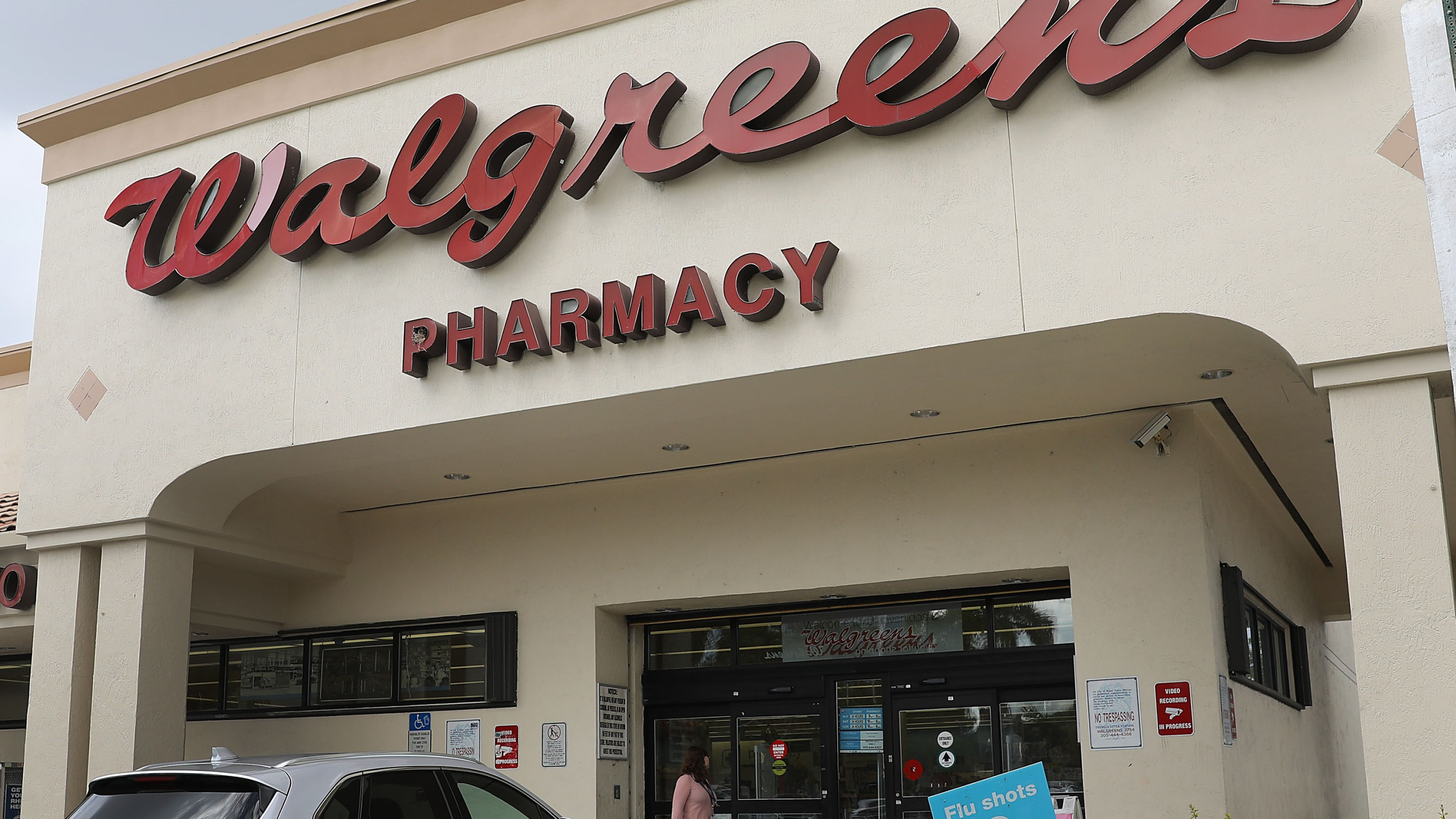 A Walgreens store is seen on April 2, 2019 in Miami, Florida. (Joe Raedle/Getty Images)