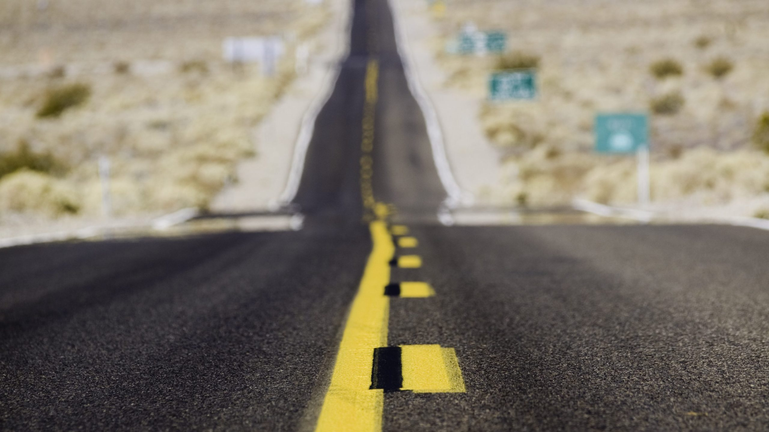 A highway leading into Death Valley National Park is seen in this undated file photo. (Getty Images)