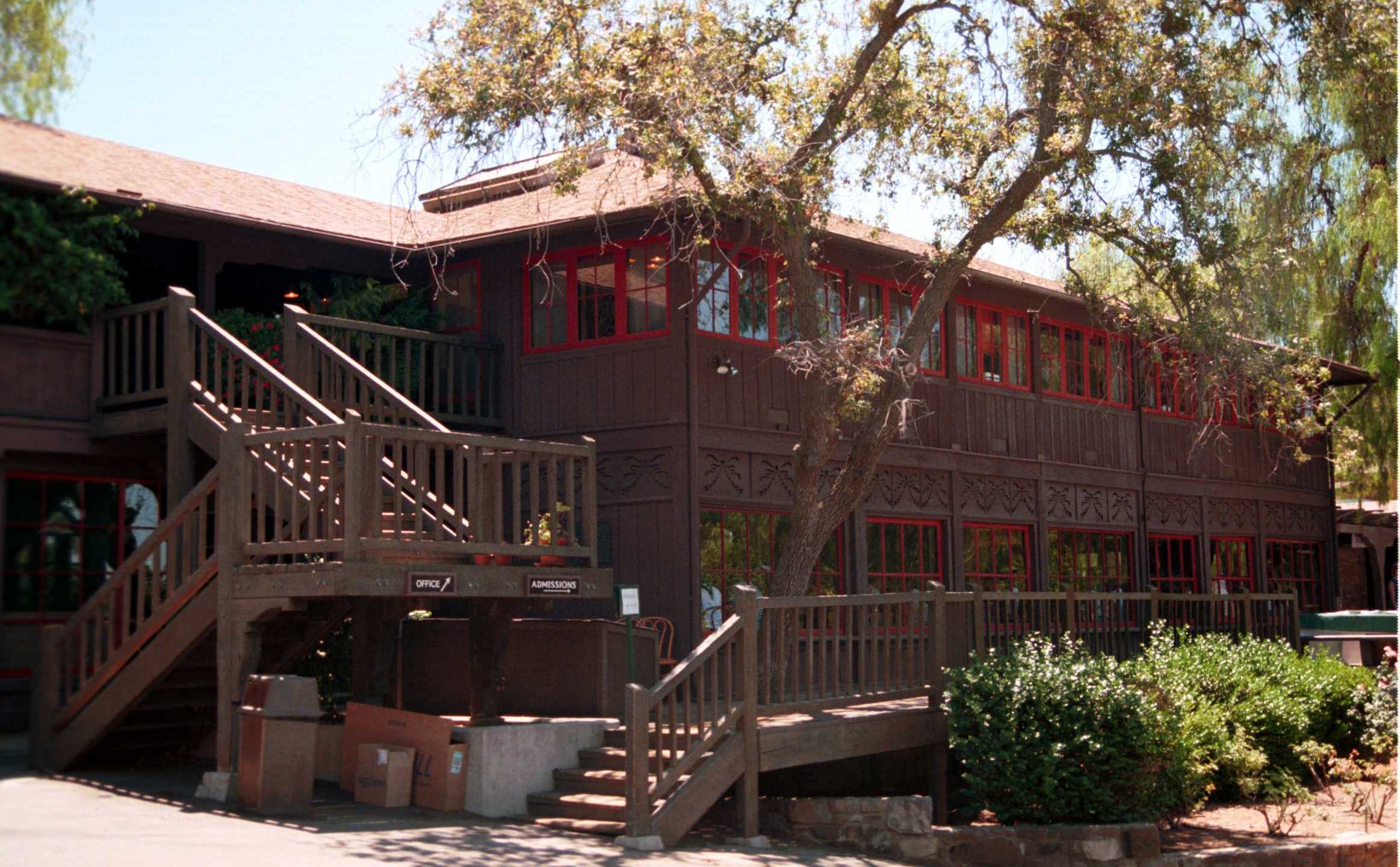 The Thacher School in Ojai is seen in July 21, 2000. (Frederick M. Brown / Online USA via Getty Images)
