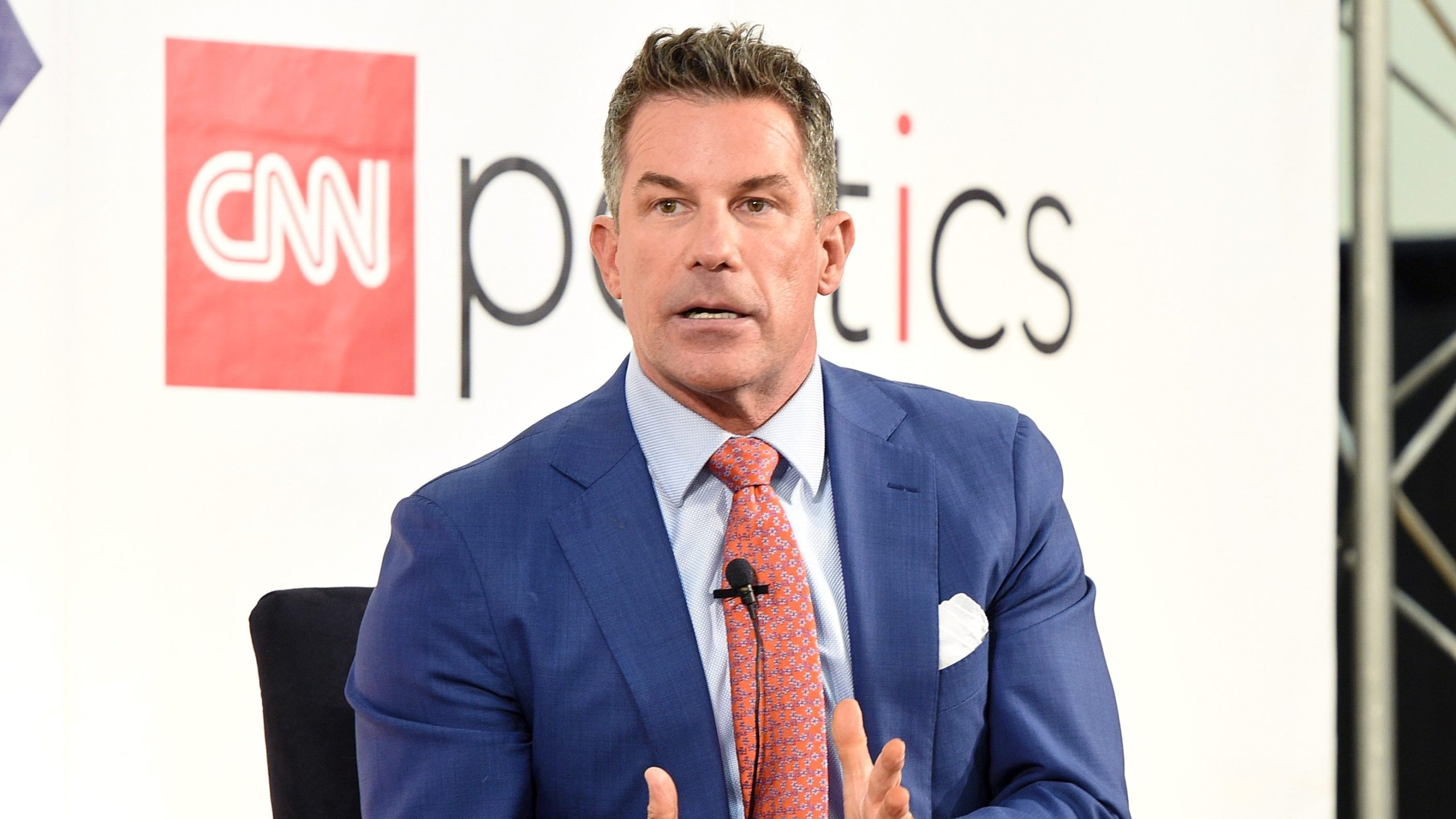 Jeremy Bernard participates at a CNN politics panel during Politicon at the Pasadena Convention Center on July 29, 2017. (Joshua Blanchard / Getty Images)