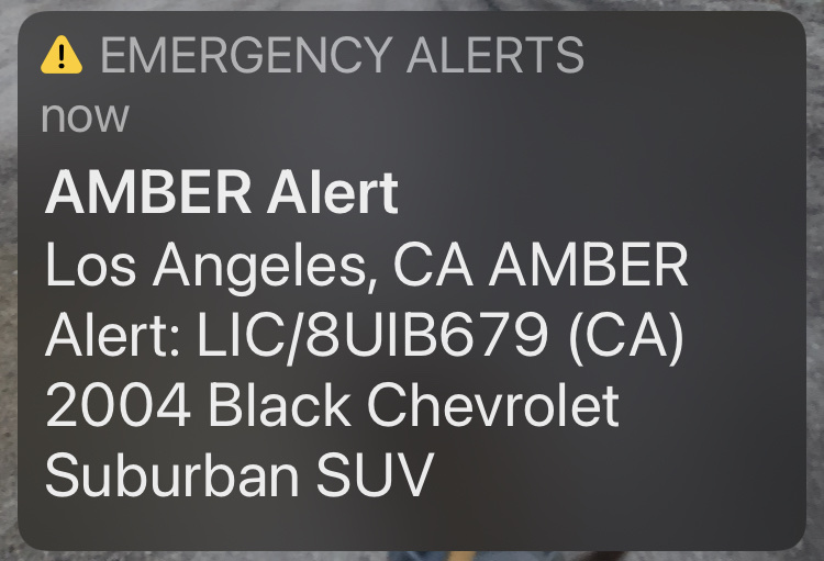 An Amber Alert sent after Aleigha Stevenson, 8, was taken June 9, 2021.