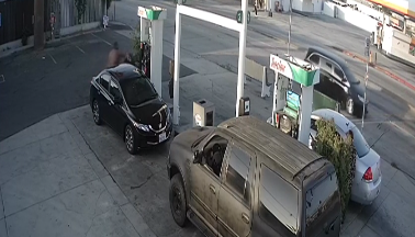 A still from the surveillance video was provided by LASD on June 4, 2021.