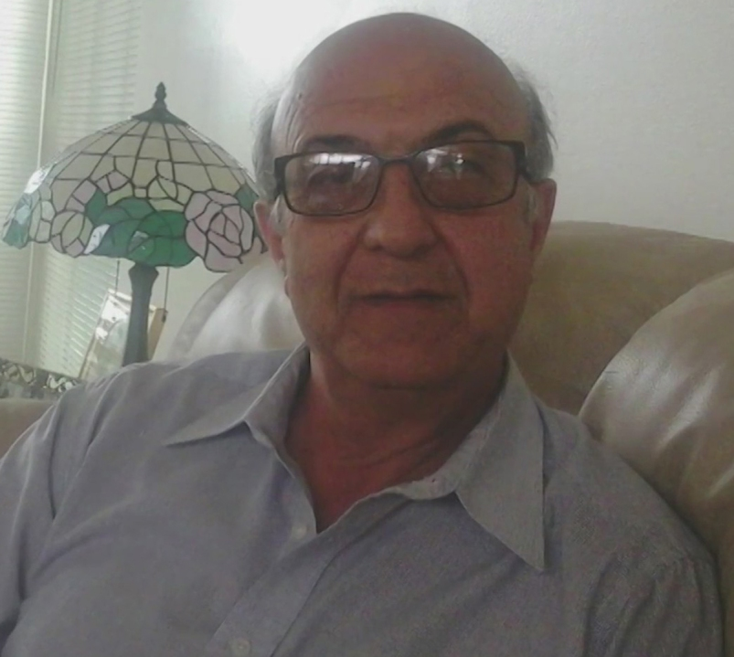"""Rahmatolah """"David"""" Yaghoubi is seen in a photo released by his family on June 1, 2021."""