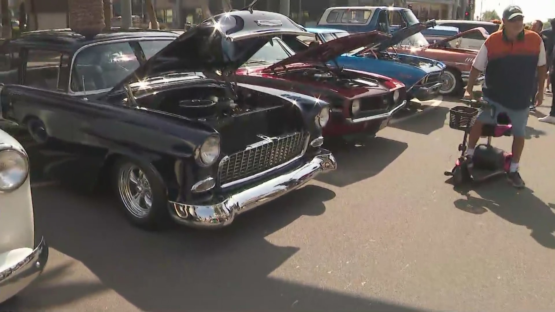 SoCal's hottest vintage and modern cars once again lined the streets of downtown Brea in celebration of Father's Day on June 20, 2021.