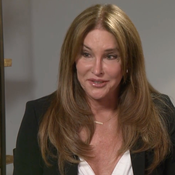 Caitlyn Jenner appears in an interview with Frank Buckley in Hollywood on June 29, 2021. (KTLA)