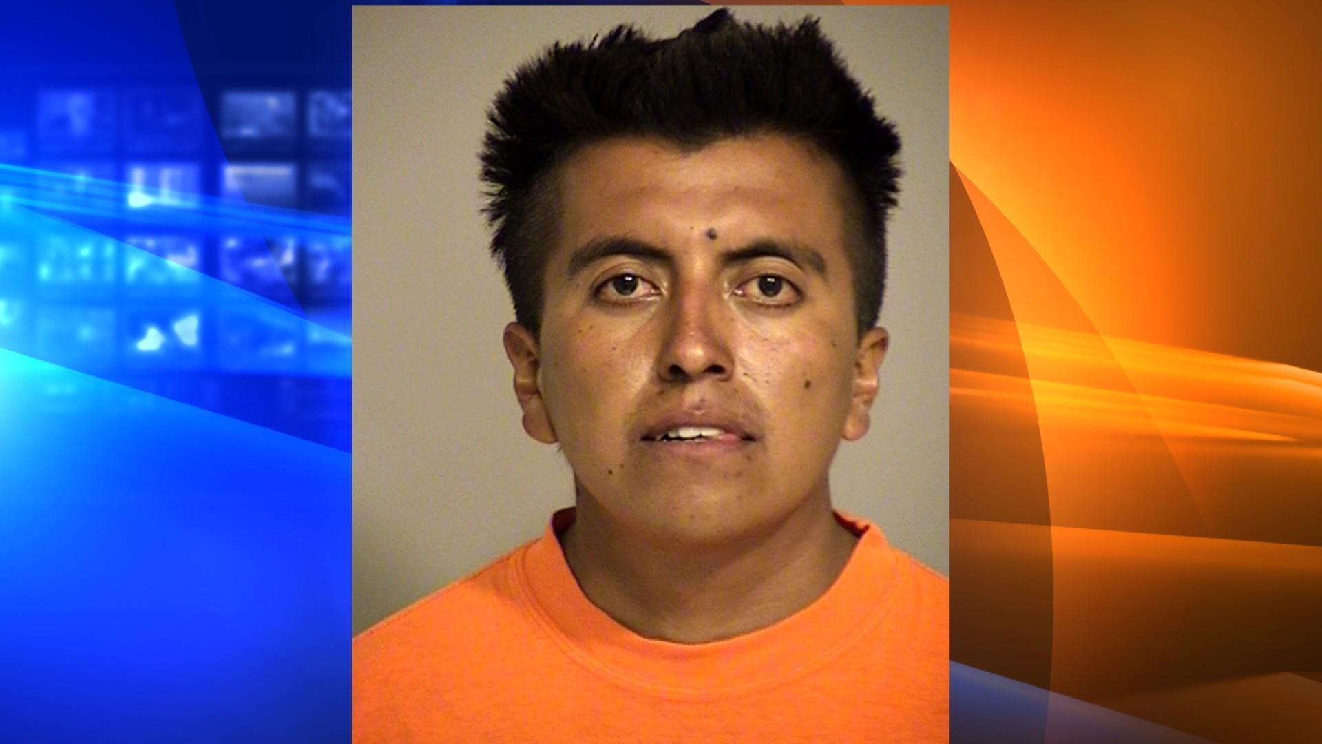 Gustavo Martinez Ramirez, 25, isseenin abooking photoreleased by the Ventura County Sheriff's Office on June 21, 2021.