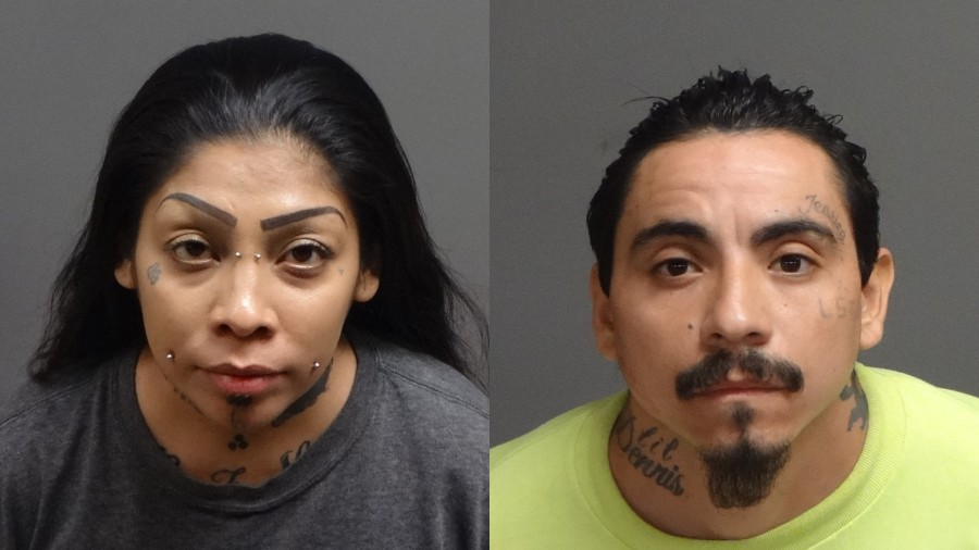 Jessica Grajeda, 35, and George Luis Almaraz, 32, appear in photos released by the Pomona Police Department on June 3, 2021.