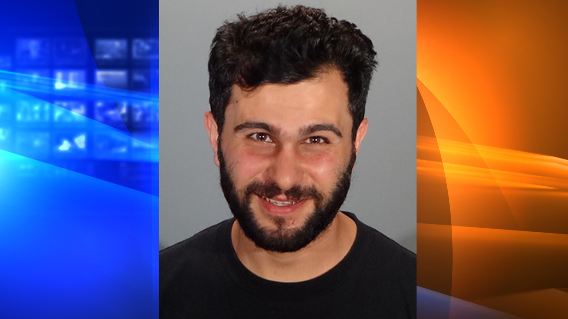 Ruben Garsevanyan is seen in a booking photo released by the Glendale Police Department on June 16, 2021.