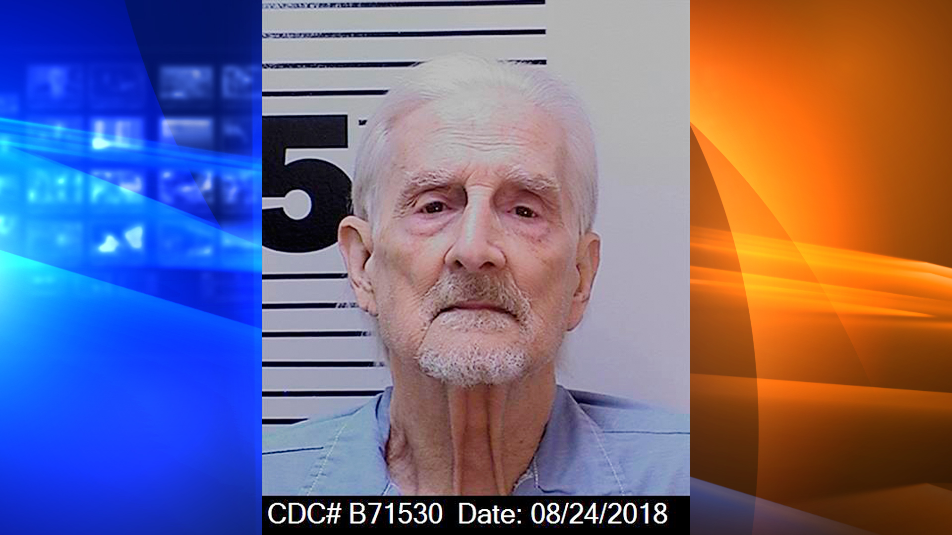 This photo provided by the California Dept. of Corrections and Rehabilitation shows Richard Allen Benson on Aug. 24, 2018.