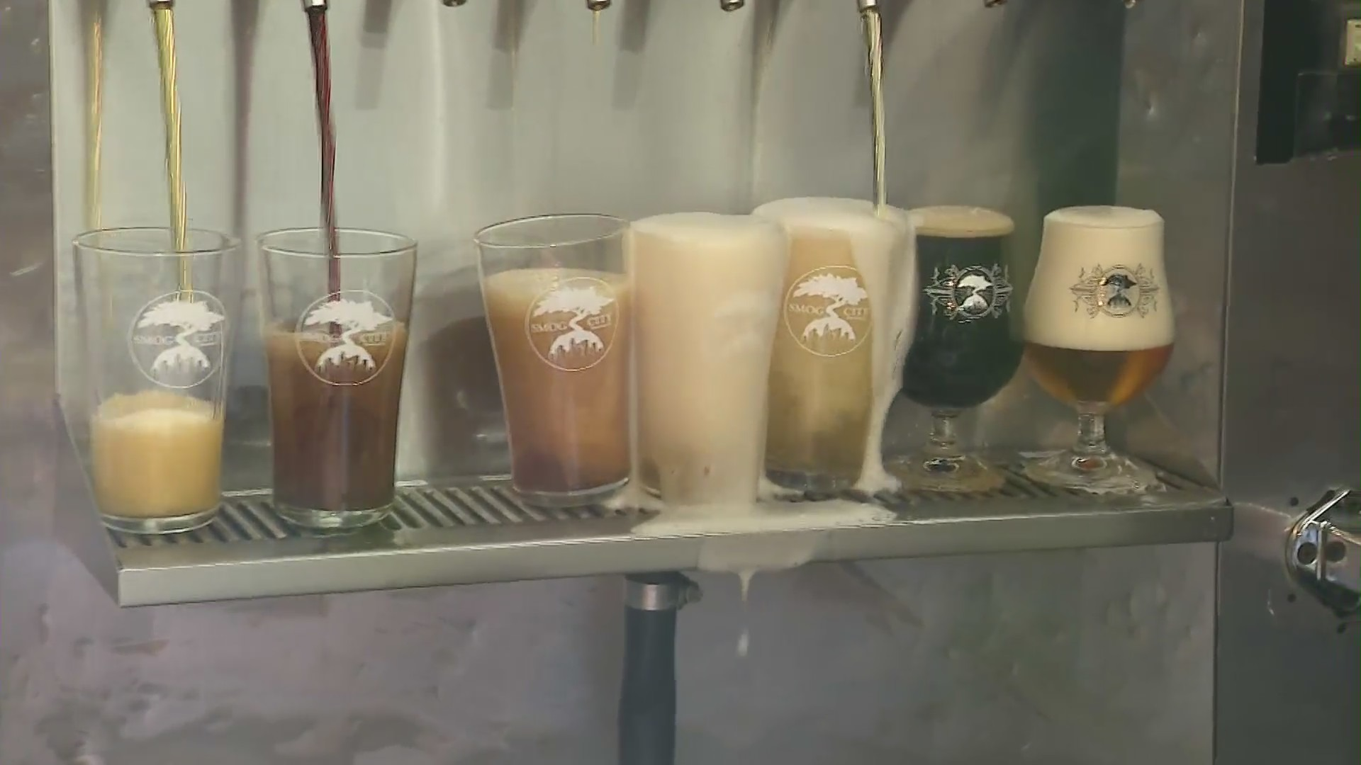 KTLA's Wendy Burch visited Smog City brewery in Torrance for Father's Day gift ideas on June 12, 2021.