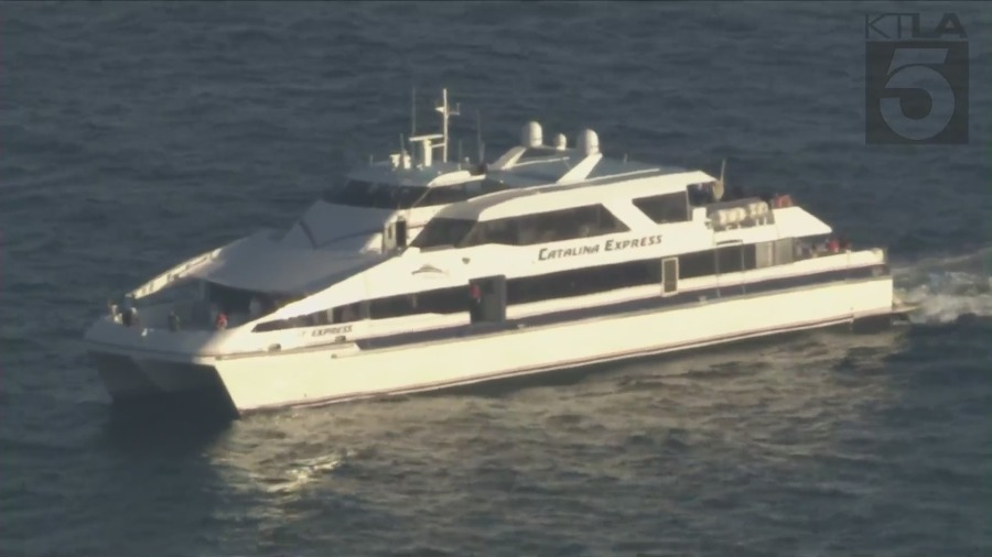 Authorities searching for man who fell overboard Catalina Island vessel