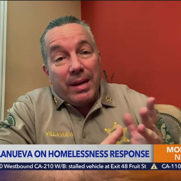 Sheriff Alex Villanueva defends LASD intervention in Venice homeless presence