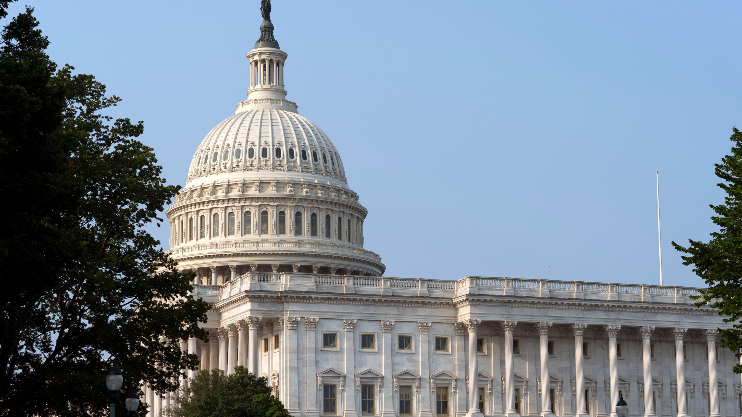 The U.S. Capitol is seen in Washington, Tuesday, July 20, 2021. (AP Photo/Jose Luis Magana)