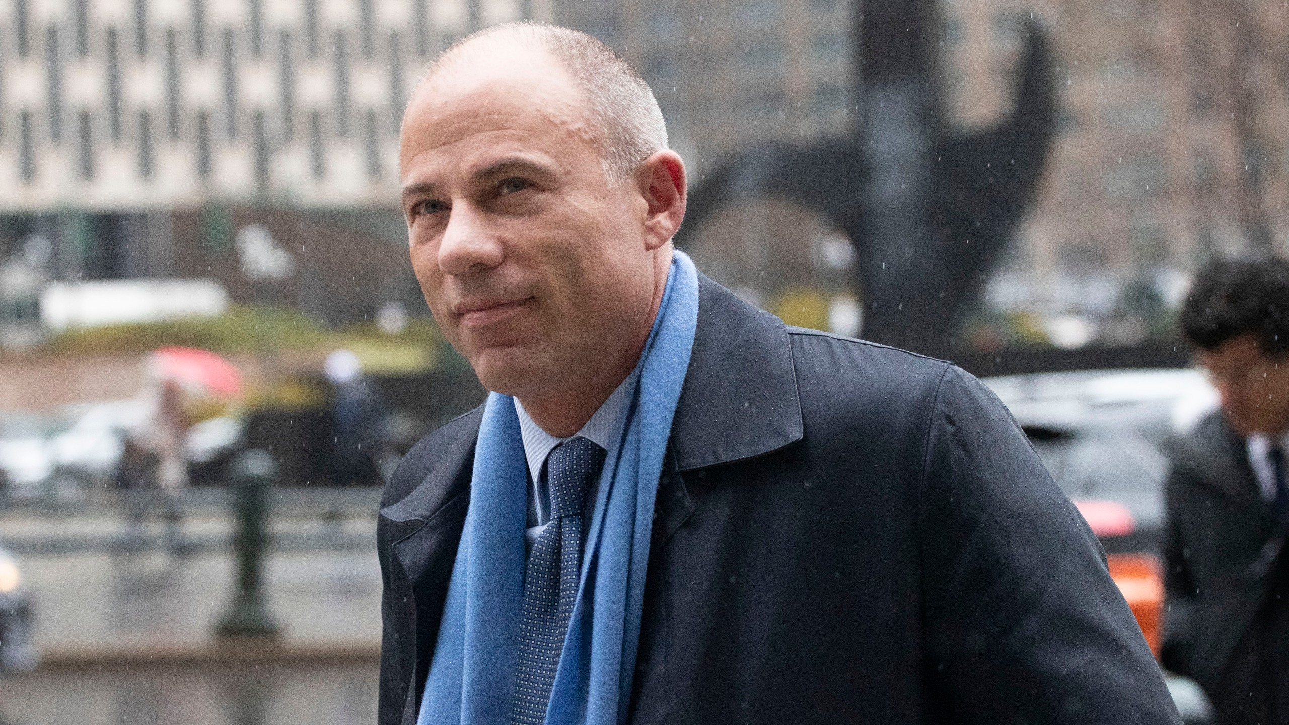In this Dec. 17, 2019, file photo, attorney Michael Avenatti arrives at federal court in New York.(AP Photo/Mark Lennihan, File)
