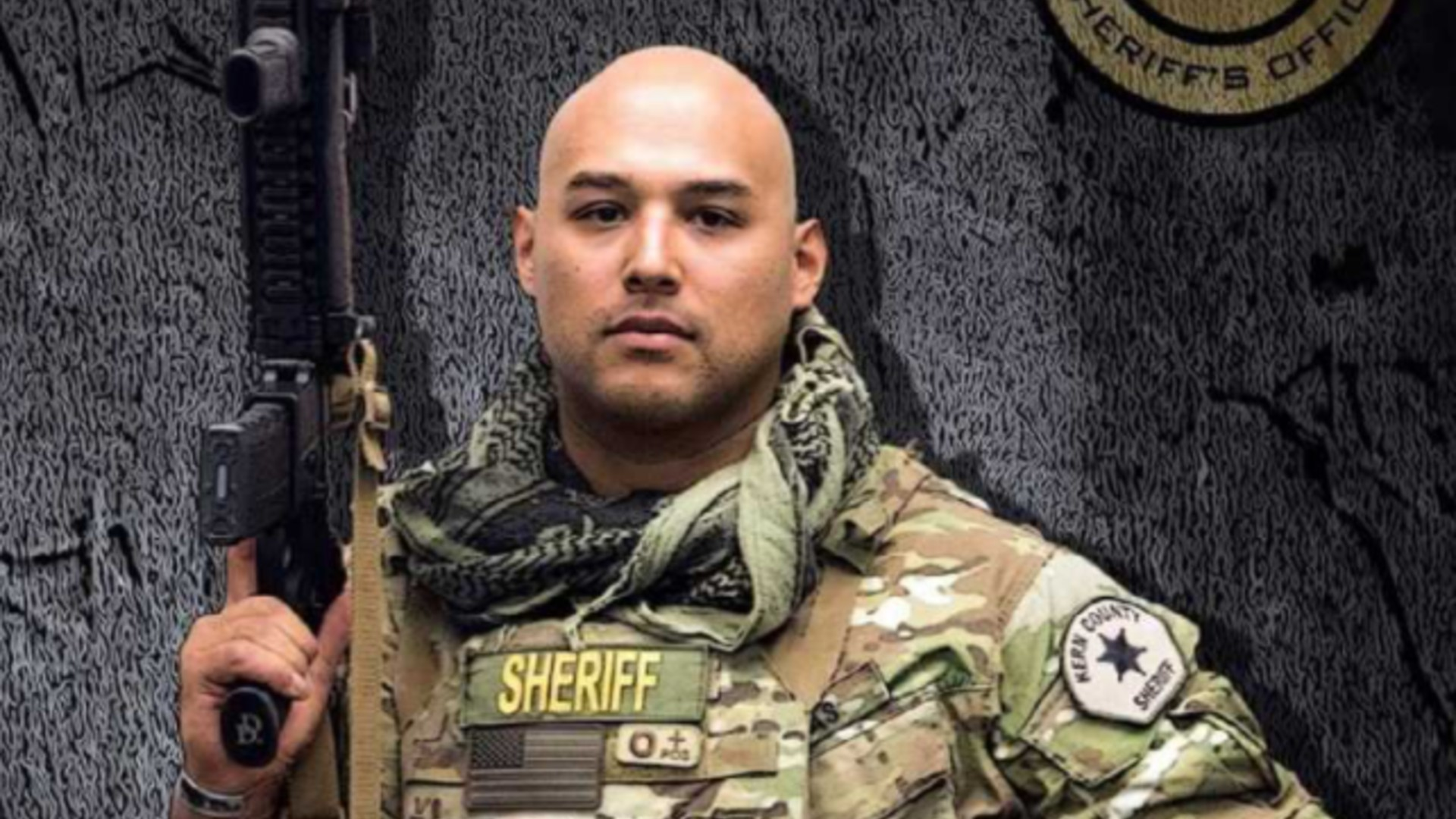 Deputy Phillip Campas is seen in a photo released by the Peace Officers Research Association of California.
