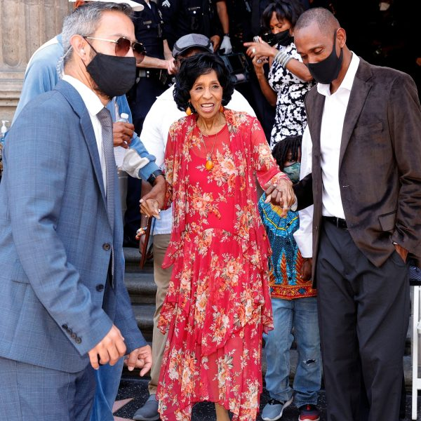 Marla Gibbs attends her Hollywood Walk of Fame star ceremony on July 20, 2021. (Amy Sussman / Getty Images)