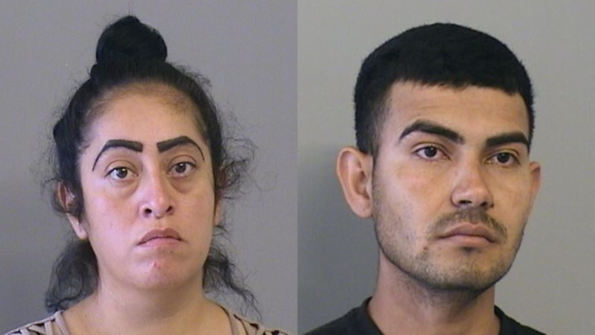 Desiree Castaneda and Juan Miranda-Jara are seen in photos released by the Tulsa Police Department.
