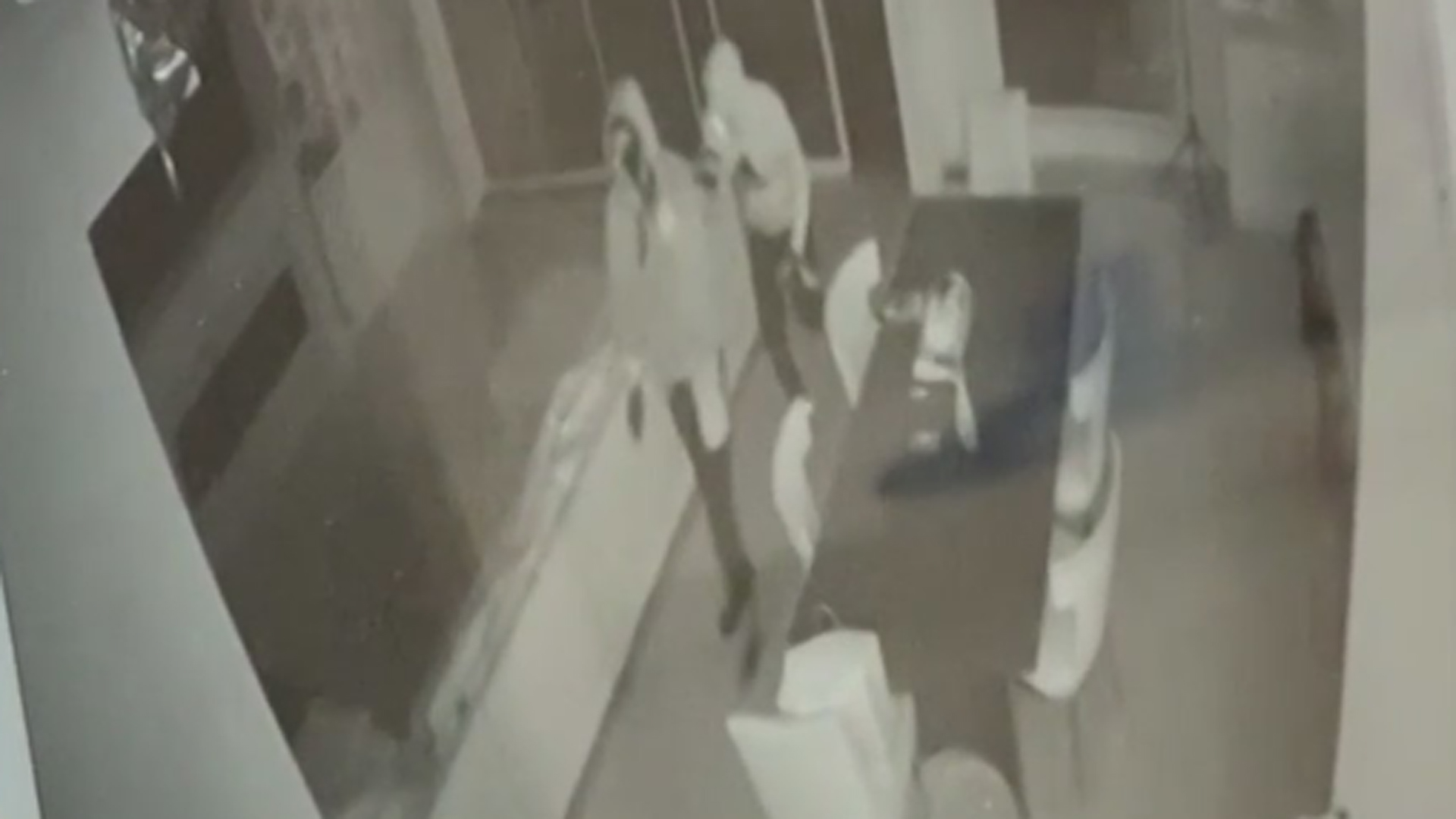 Video provided by activist Najee Ali on July 30, 2021 shows a residential burglary in Van Nuys.